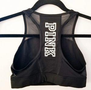 Victoria's Secret PINK cropped mesh sports bra